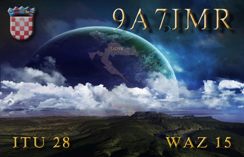 QSL image for 9A7IMR