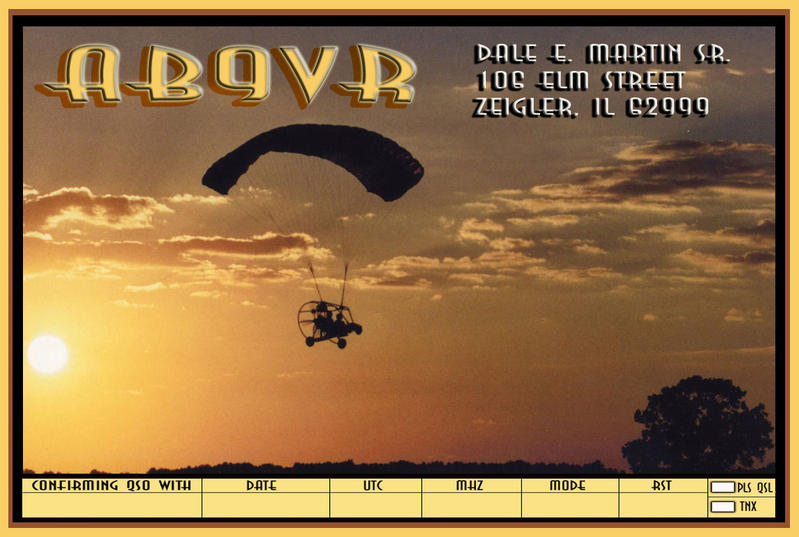 QSL image for AB9VR