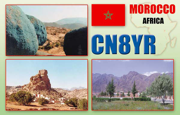 QSL image for CN8YR