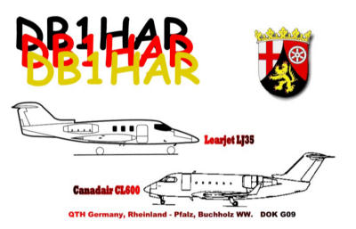 QSL image for DB1HAR
