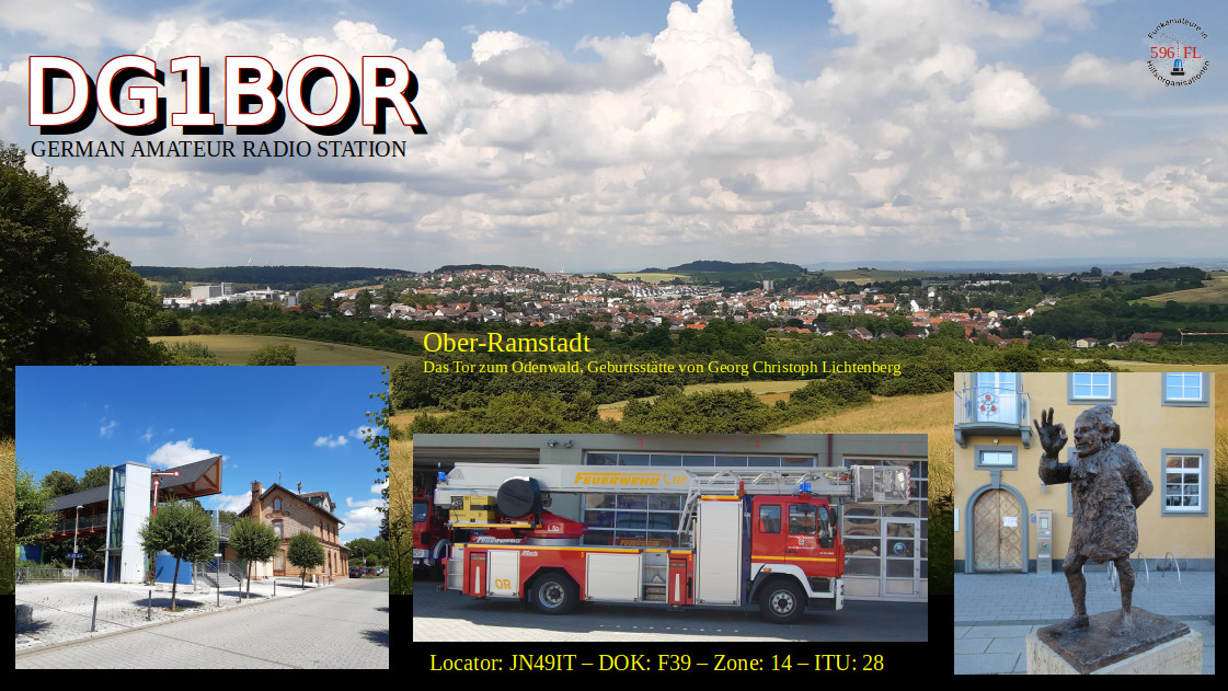 QSL image for DG1BOR
