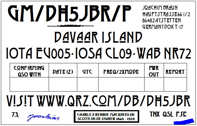 QSL image for DH5JBR