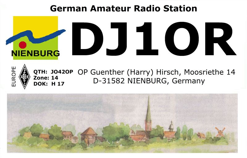 QSL image for DJ1OR