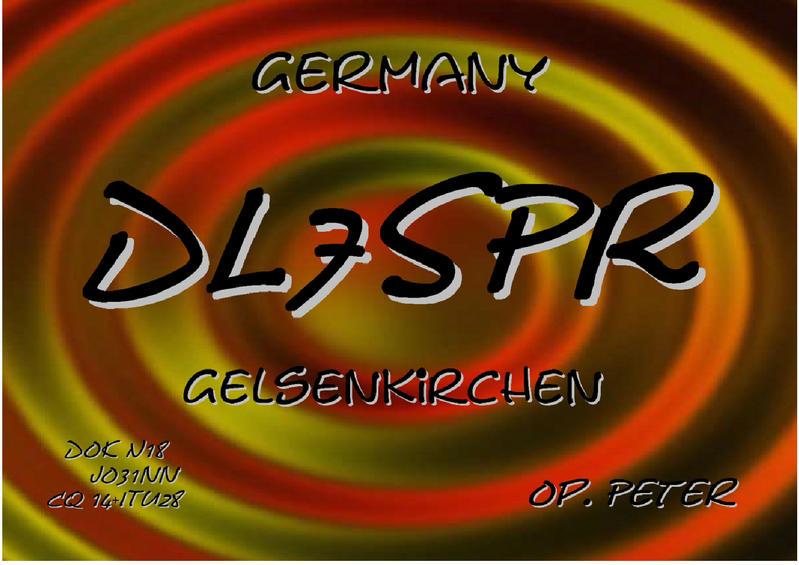 QSL image for DL7SPR