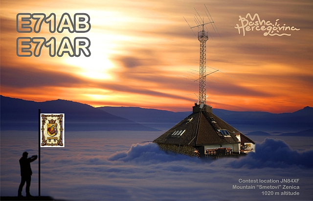 QSL image for E71AR