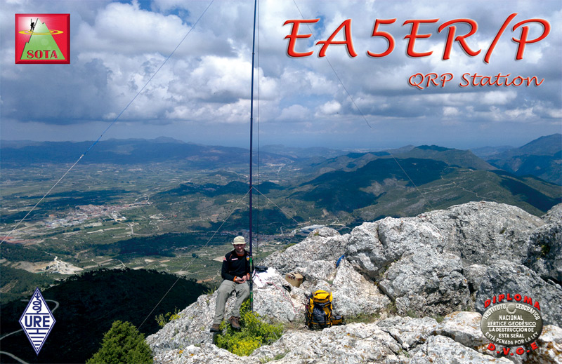 QSL image for EA5ER