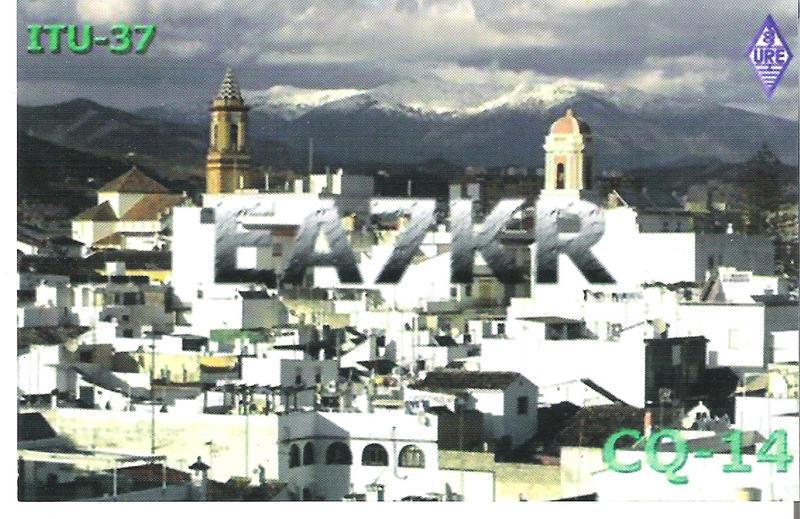 QSL image for EA7KR
