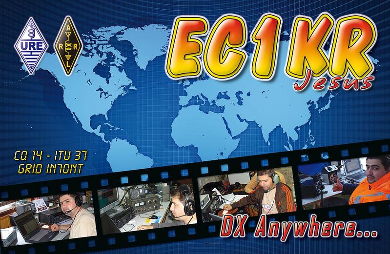 QSL image for EC1KR
