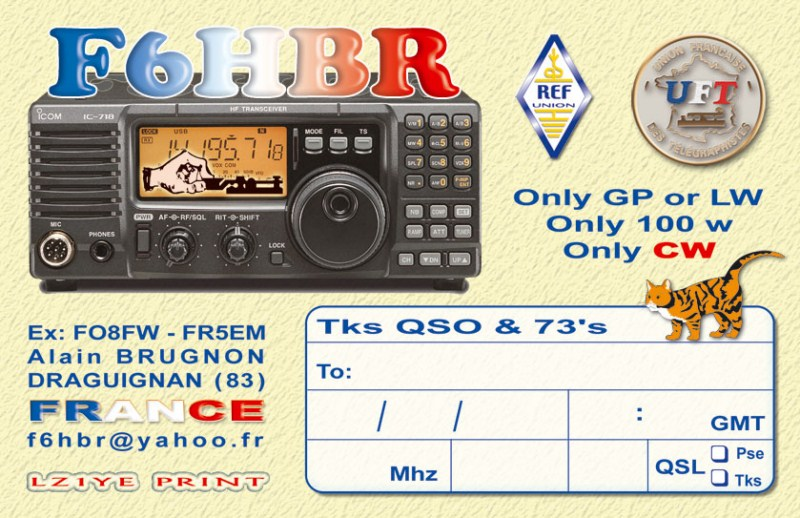 QSL image for F6HBR
