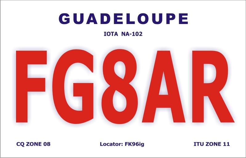 QSL image for FG8AR