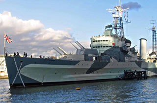 HMS Belfast in London