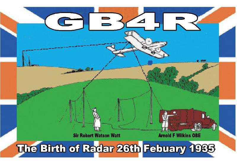 QSL image for GB4R