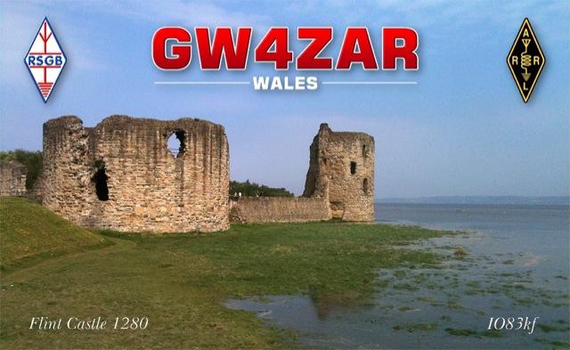 QSL image for GW4ZAR
