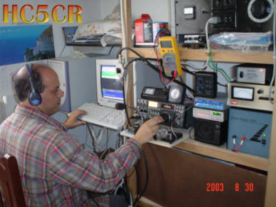 QSL image for HC5CR