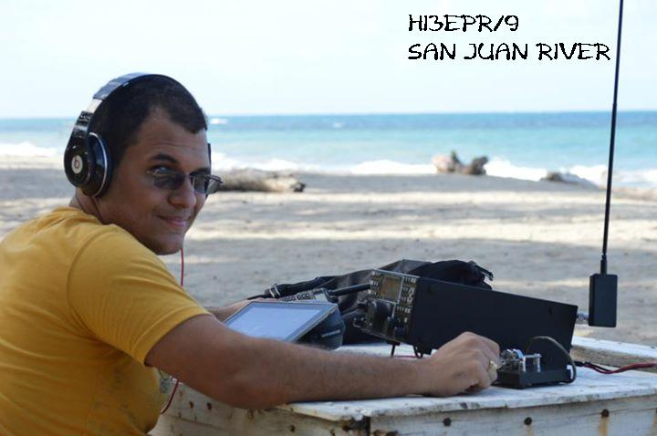 QSL image for HI3EPR