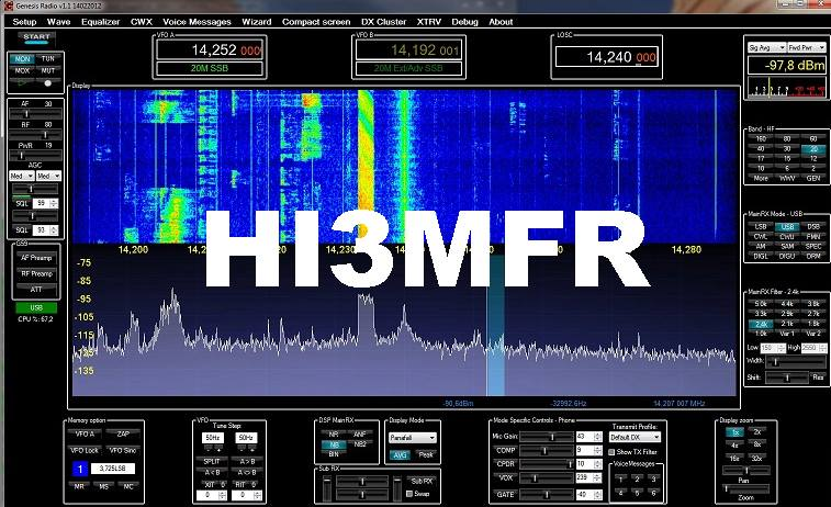 QSL image for HI3MFR