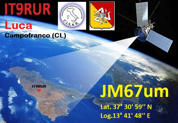 QSL image for IT9RUR