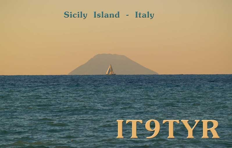 QSL image for IT9TYR
