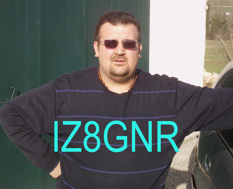 QSL image for IZ8GNR