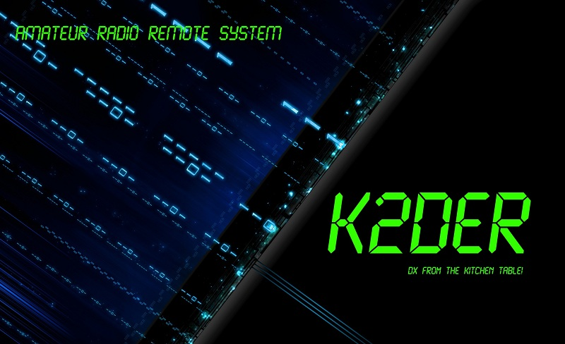 QSL image for K2DER