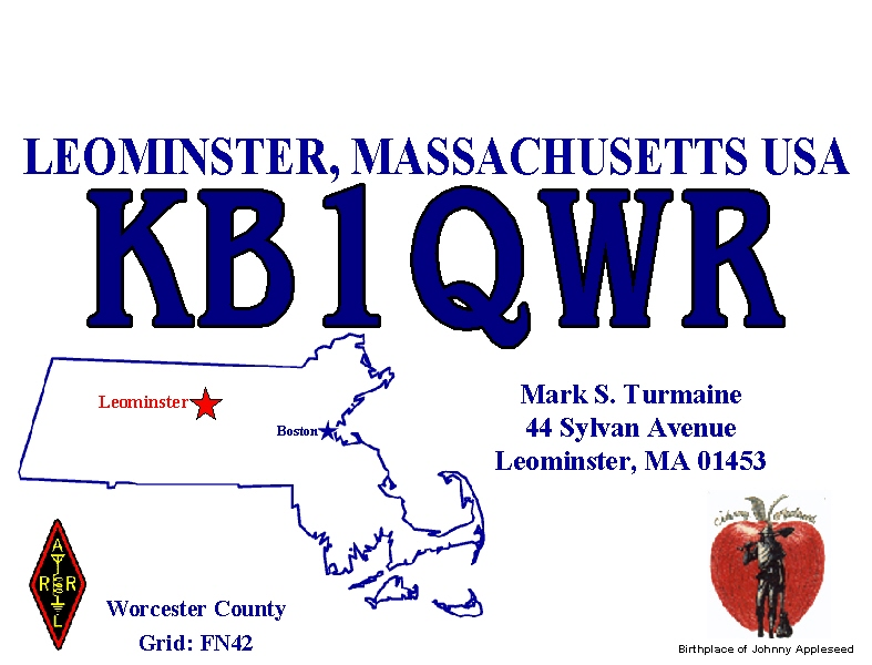 QSL image for KB1QWR