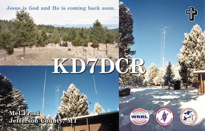 QSL image for KD7DCR