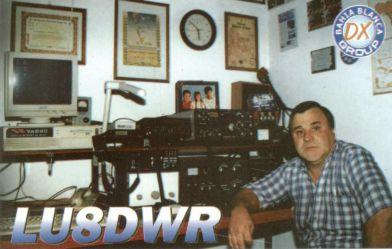 QSL image for LU8DWR