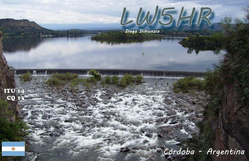 QSL image for LW5HR