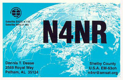 QSL image for N4NR