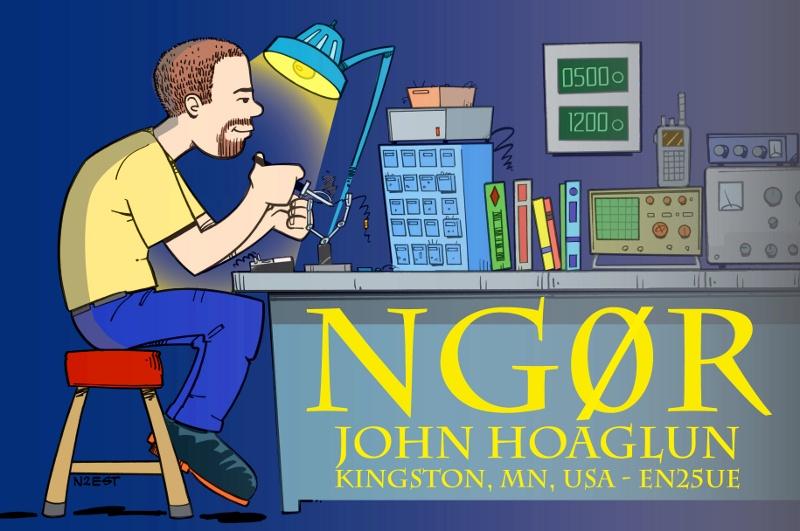 QSL image for NG0R