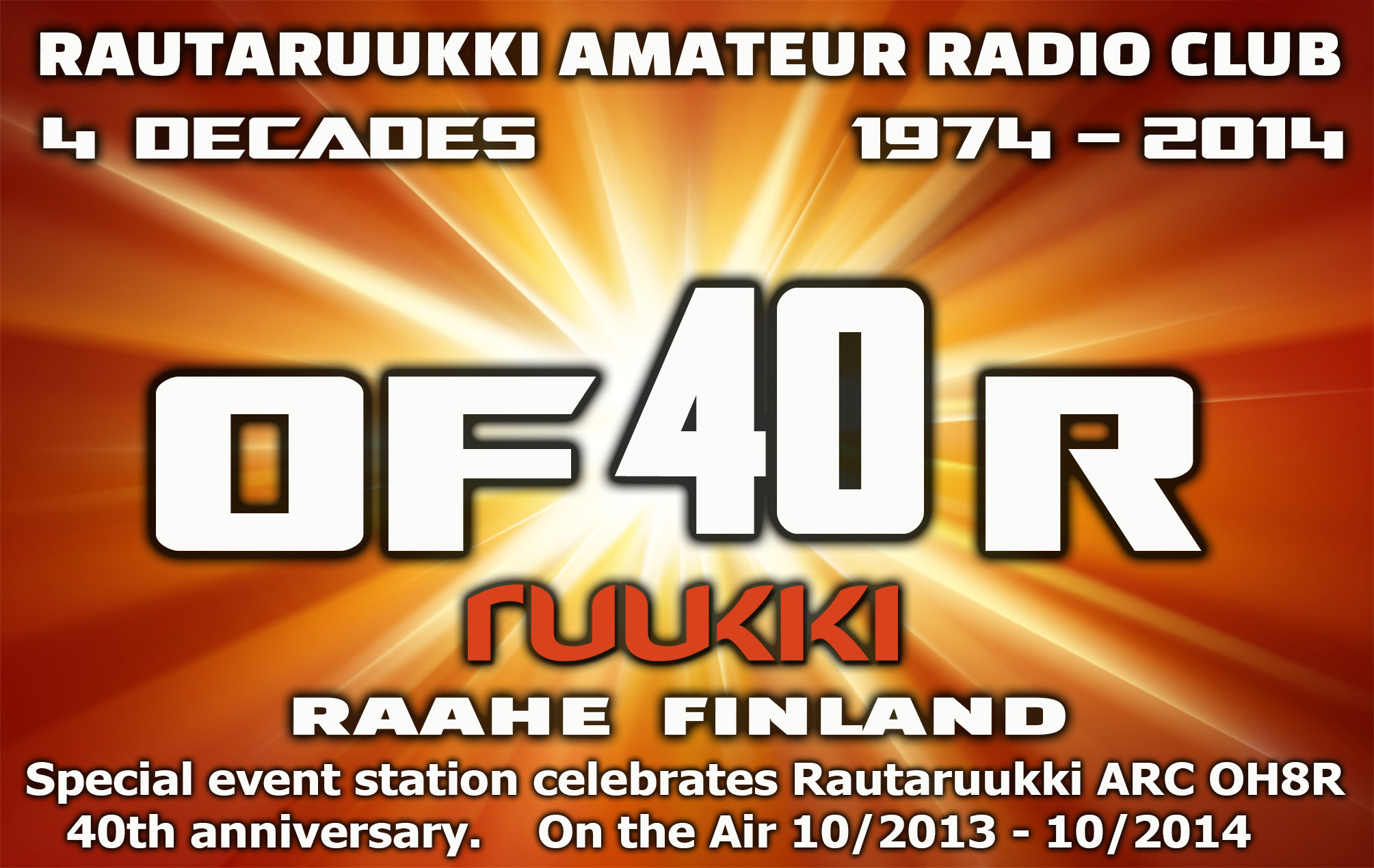 QSL image for OF40R