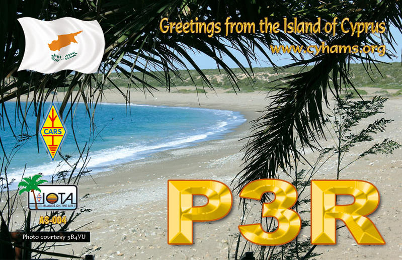 QSL image for P3R