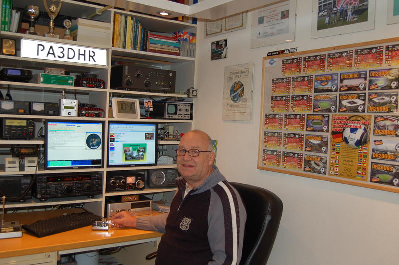 QSL image for PA3DHR