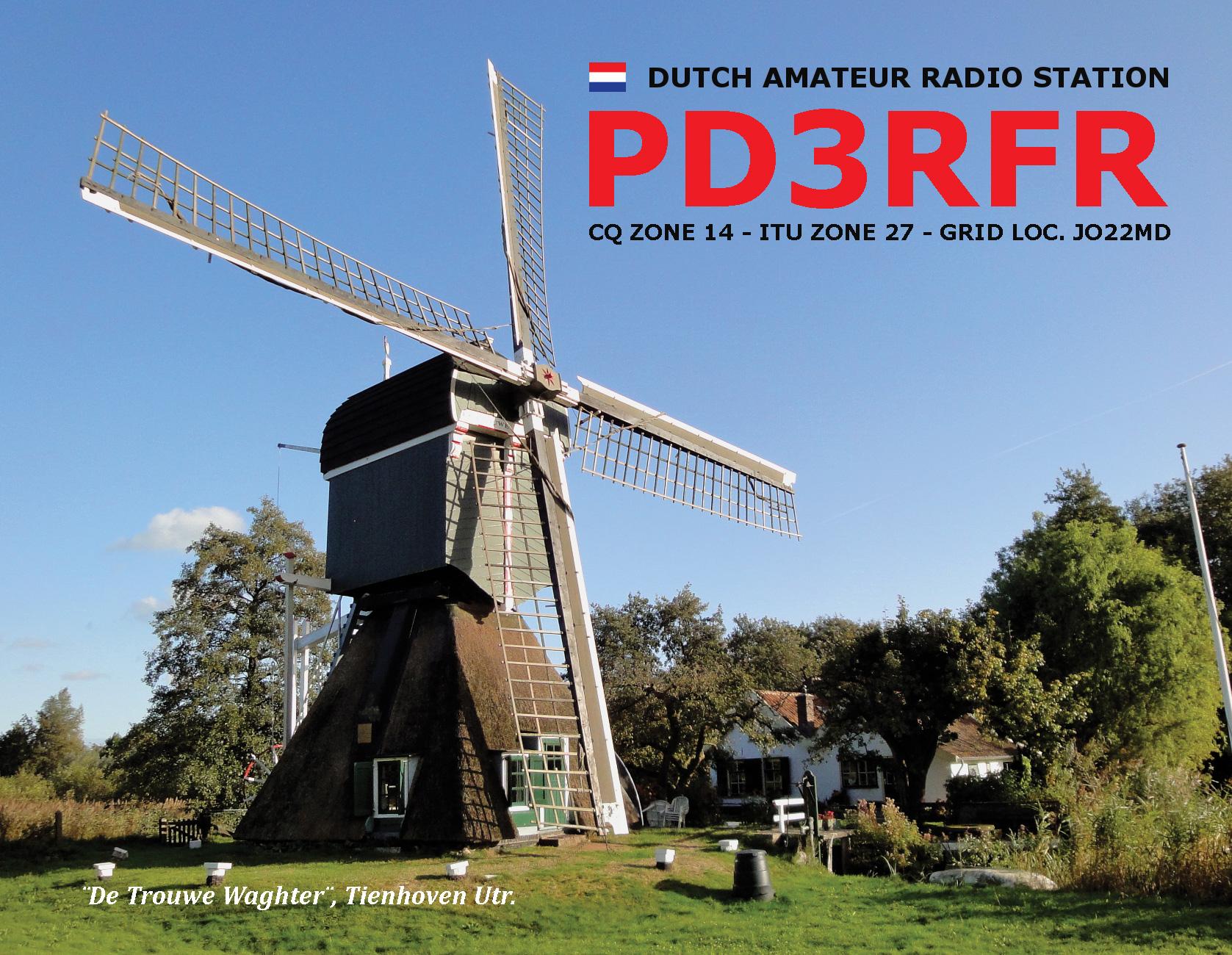 PD3RFR QSL-card