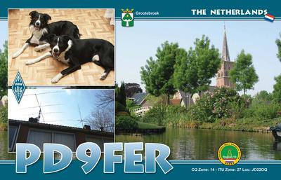 QSL image for PD9FER