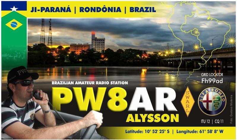 QSL image for PW8AR