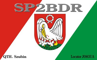 QSL image for SP2BDR