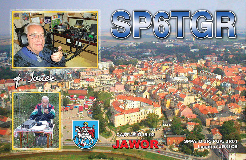 QSL image for SP6TGR