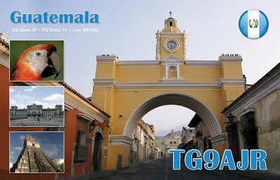 QSL image for TG9AJR
