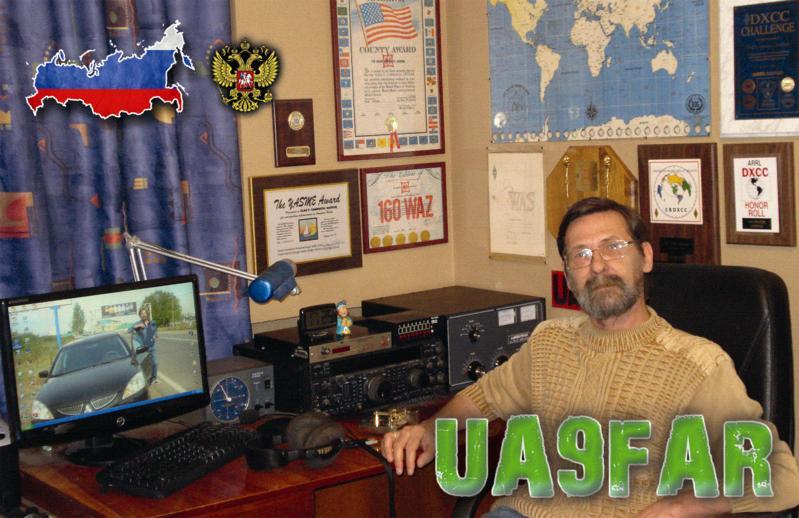 QSL image for UA9FAR