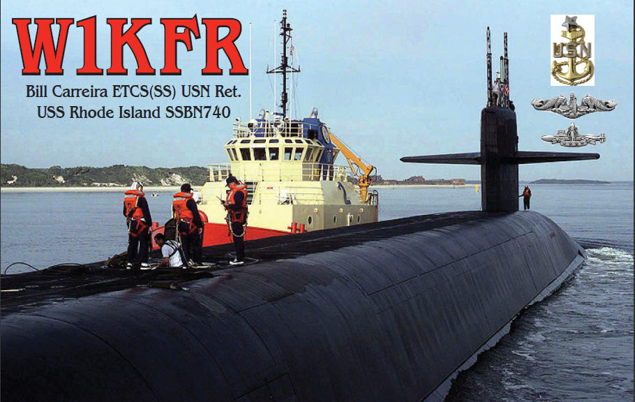 QSL image for W1KFR