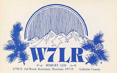 QSL image for W7LR