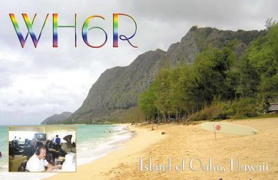 QSL image for WH6R
