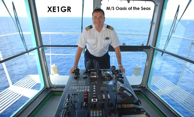 QSL image for XE1GR