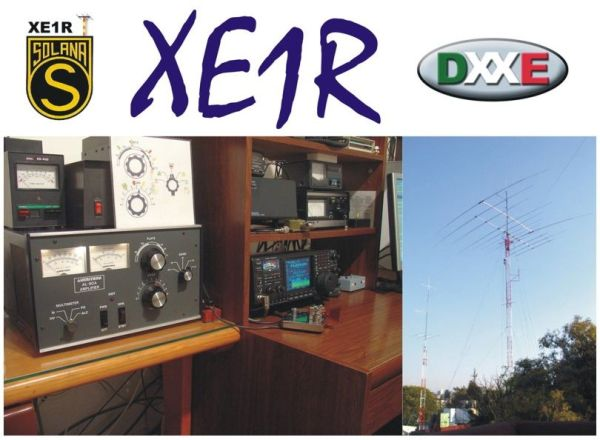 QSL image for XE1R