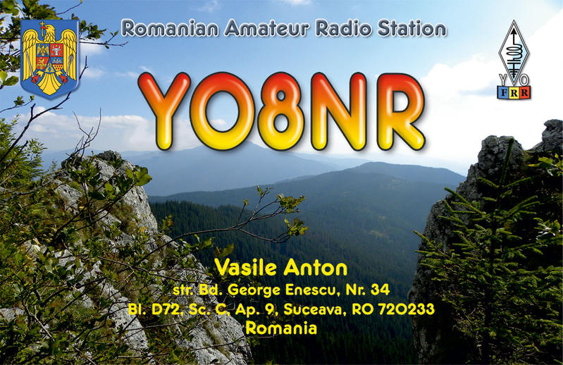 QSL image for YO8NR