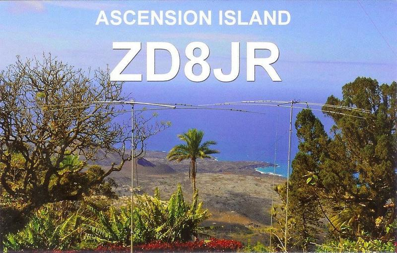 QSL image for ZD8JR