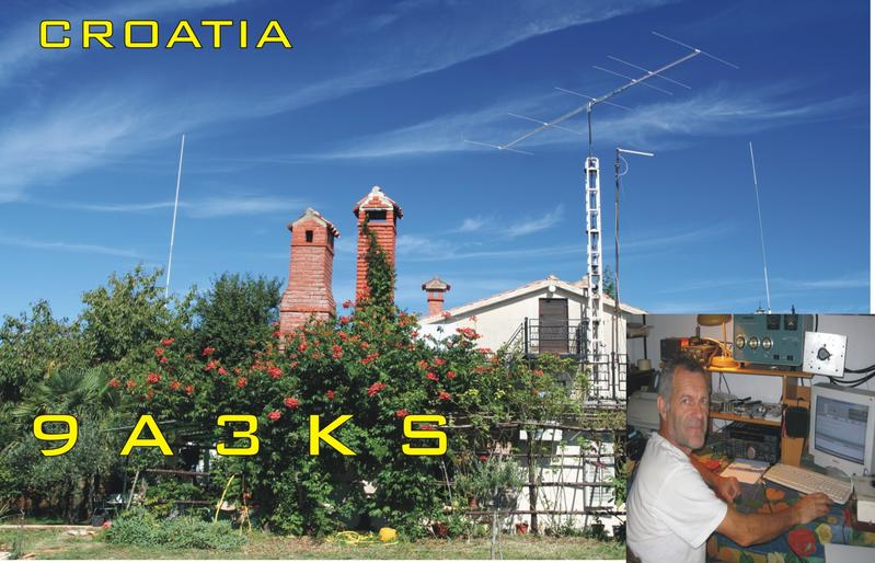 QSL image for 9A3KS
