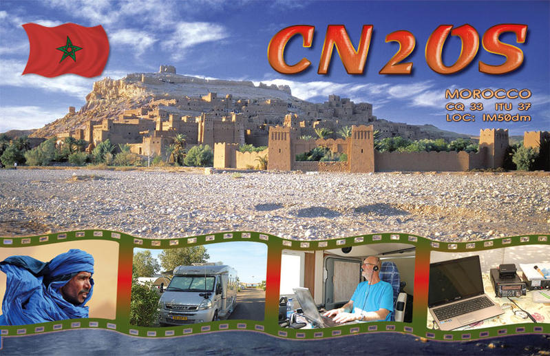 QSL image for CN2OS
