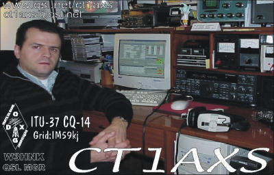 QSL image for CT1AXS